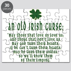 An Old irish curse Puzzle
