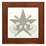 ACOUSTIC GUITARS STAR Framed Tile