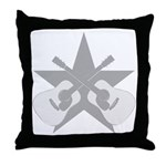 ACOUSTIC GUITARS STAR Throw Pillow