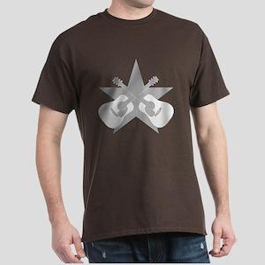 ACOUSTIC GUITARS STAR Dark T-Shirt