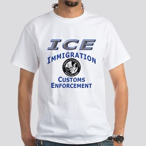 US Immigration & Customs: White T-Shirt