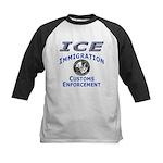 US Immigration & Customs: Kids Baseball Jersey