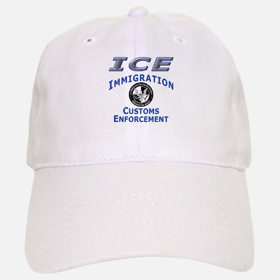 US Immigration & Customs: Baseball Baseball Cap