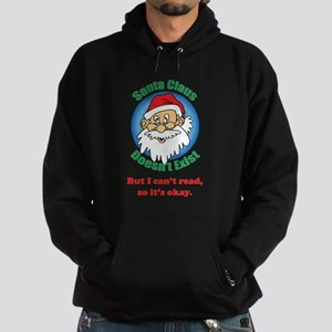 Santa Claus doesn't exist Hoodie (dark)
