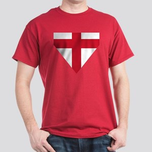 England St George's Cross Flag Dark T-Shirt