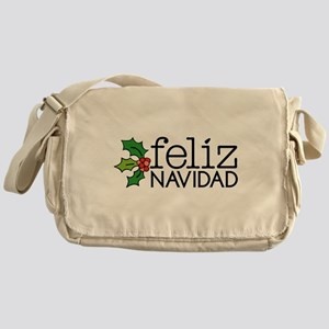 Feliz Navidad Messenger Bag