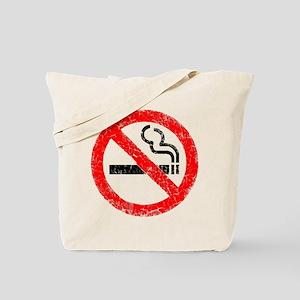 Distressed, No Smoking Tote Bag
