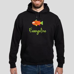 Evangeline is a Big Fish Hoodie (dark)