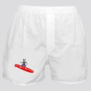 Cattle Dog Surfer Boxer Shorts