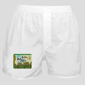 Cattle Dog Tiki Bar Boxer Shorts