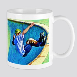 Skateboarding in the Bowl Mug
