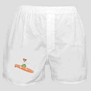 Jack Russell Terrier Surfer Boxer Shorts