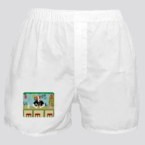 Jack Russell Terrier Tiki Boxer Shorts