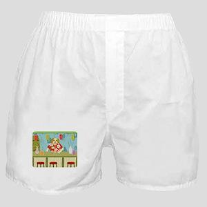 Shih Tzu Tiki Bar Boxer Shorts