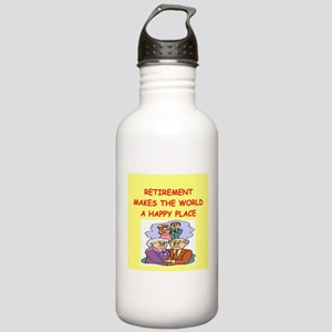retirement Stainless Water Bottle 1.0L