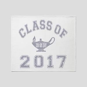 Class Of 2017 BSN Throw Blanket