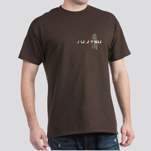 Jiu Jitsu Weight Dark T-Shirt (front/back)