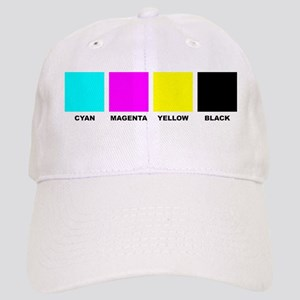 CMYK Four Color Cap