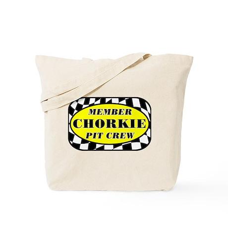 Chorkie PIT CREW Tote Bag