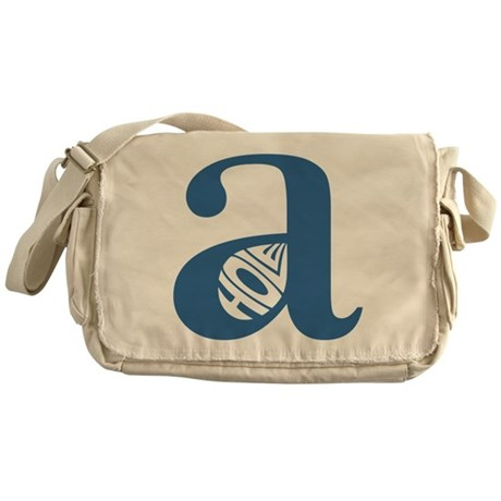 Asshole A-Hole Messenger Bag
