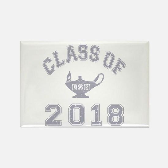 Class Of 2018 BSN Rectangle Magnet