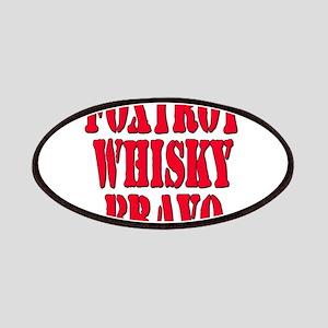 FWB Friends With Benefits Foxtrot Whisky Bravo Pat