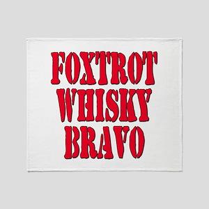 FWB Friends With Benefits Foxtrot Whisky Bravo St
