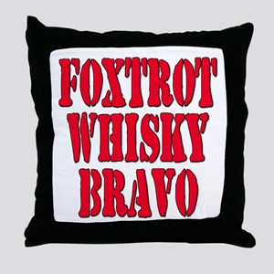FWB Friends With Benefits Foxtrot Whisky Bravo Thr