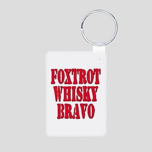 FWB Friends With Benefits Foxtrot Whisky Bravo Alu
