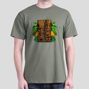 Tiki Idols Dark T-Shirt