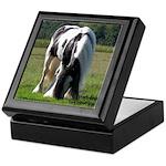Gypsy Stallion in Pasture Keepsake Box