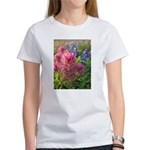 Bluebonnets and Texas Pinks Women's T-Shirt