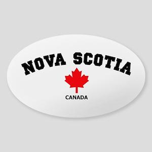 Nova Scotia Sticker (Oval)