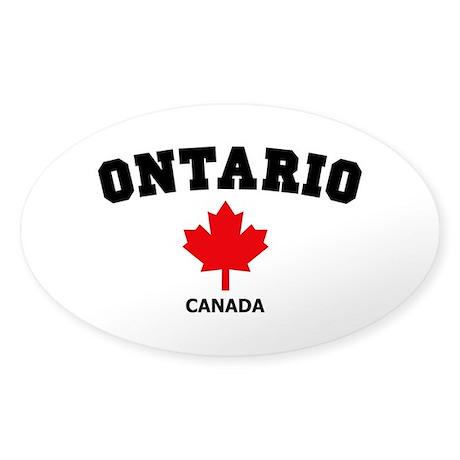 Ontario Sticker (Oval)