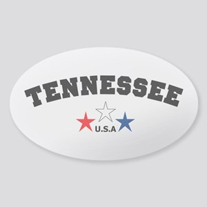 Tennessee Sticker (Oval)