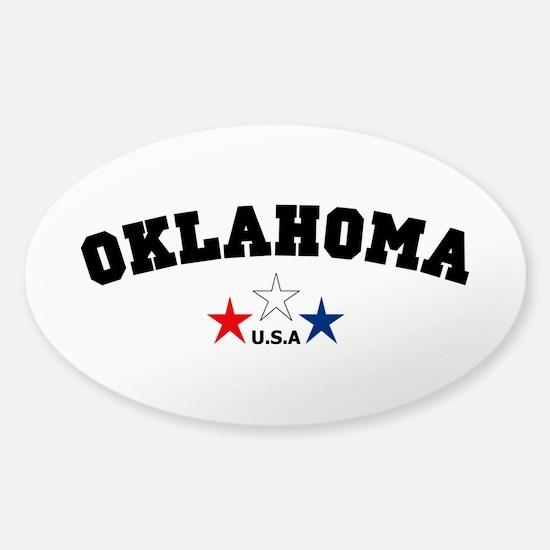 Oklahoma Sticker (Oval)
