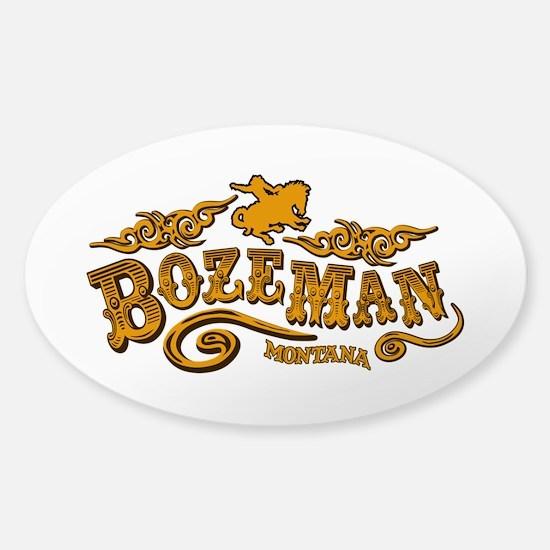 Bozeman Saloon Sticker (Oval)
