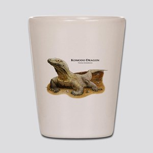 Komodo Dragon Shot Glass