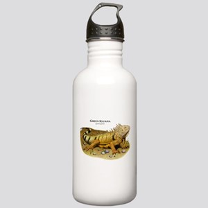 Green Iguana Stainless Water Bottle 1.0L