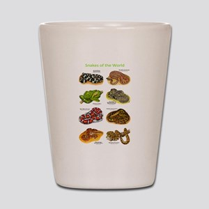 Snakes of the World Shot Glass