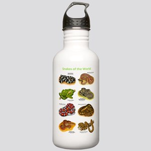 Snakes of the World Stainless Water Bottle 1.0L