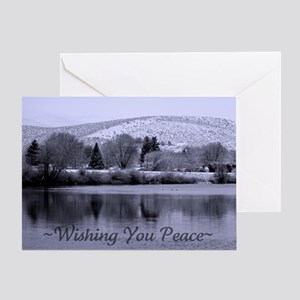 Wishing You Peace - Greeting Card