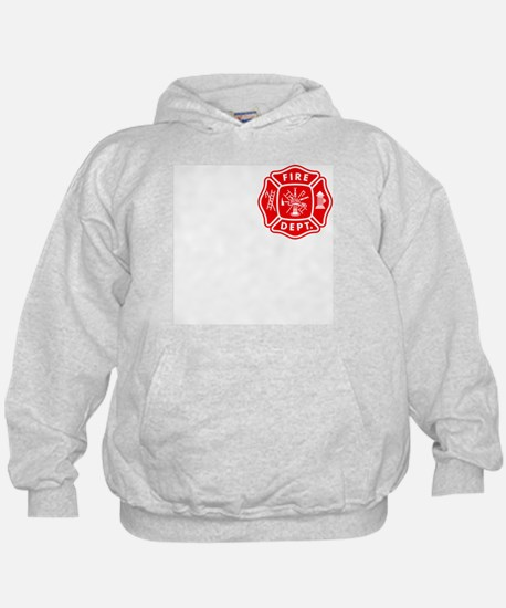 Personalized Fire Department Crest Hoodie