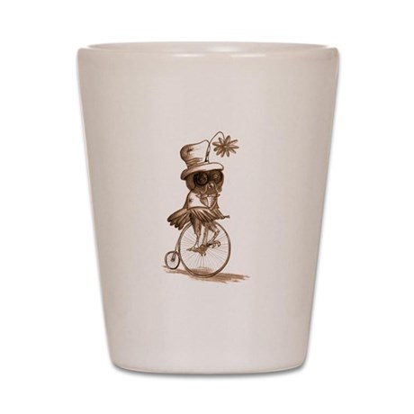 Sir Owlfred Shot Glass