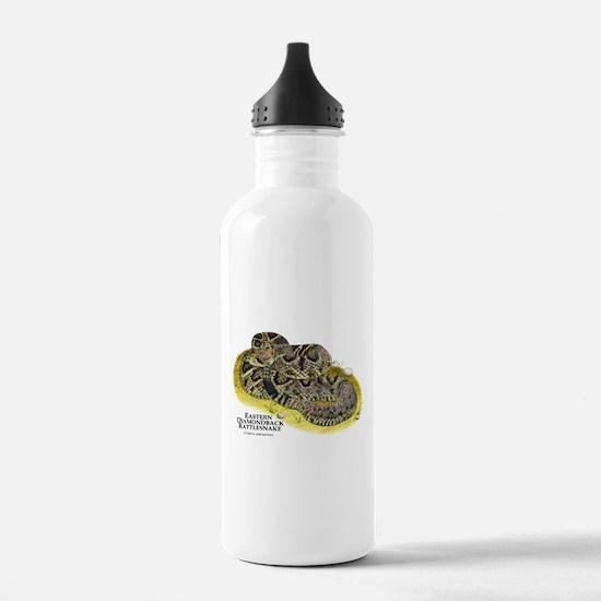 Eastern Diamondback Rattlesna Water Bottle