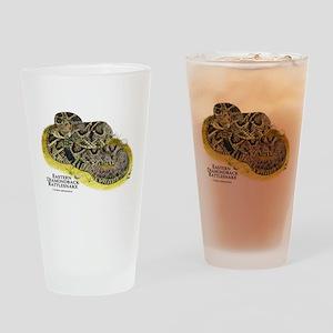 Eastern Diamondback Rattlesna Drinking Glass