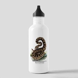 Eastern Massasauga Rattlesnak Stainless Water Bott