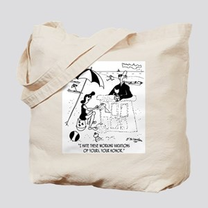 A Judge @ The Beach Tote Bag