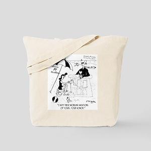 A Judge @ The Beach Tote Bag