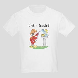 Little Squirt Fireman Kids Light T-Shirt
